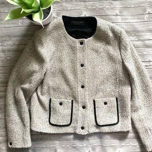 Rag & bone Cannon Snap Front Tweed Jacket